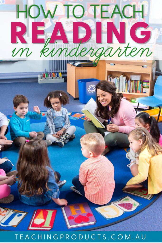 How to teach reading in kindergarten