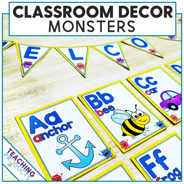 Classroom Decor Monsters Theme