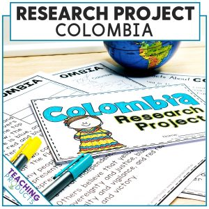 Social Studies Country Research Project About Colombia