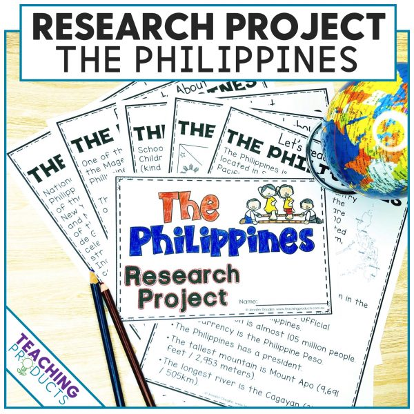 Social studies country research project the Philippines