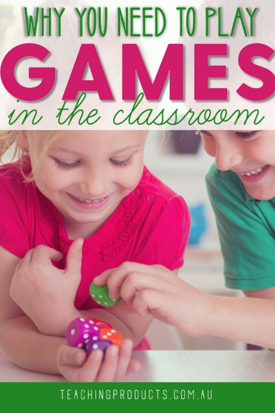 Why you need to play games in your classroom