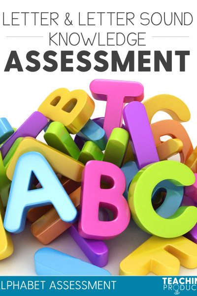 Letter and letter sound knowledge assessment