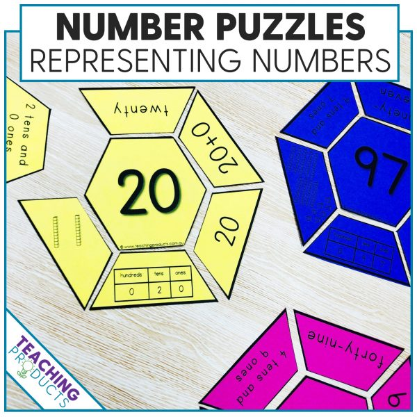 Representing numbers puzzles
