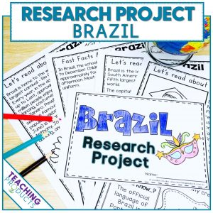 Social studies country research project Brazil