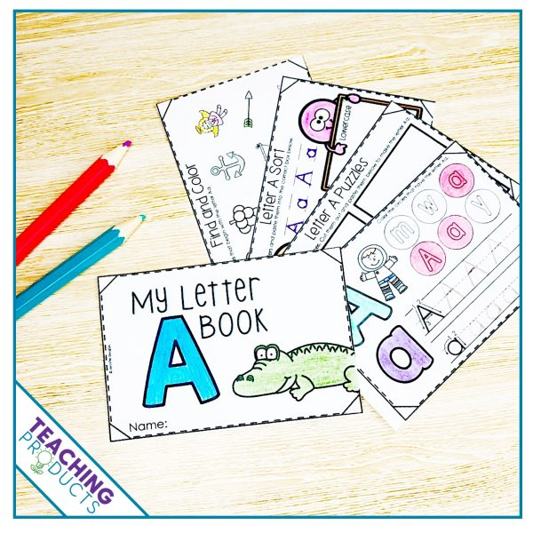 Interactive alphabet books to support letter recognition
