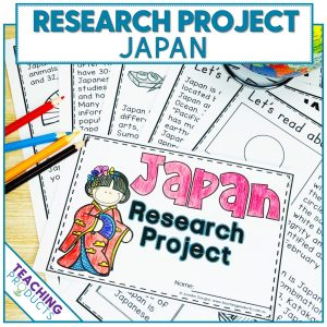 Social studies country research project Japan