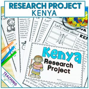 Social studies country research project Kenya