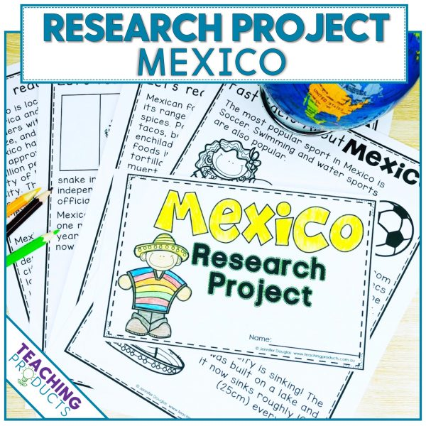 Social studies country research project Mexico