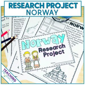 Social studies country research project Norway