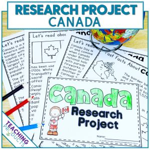 Social studies country research project Canada