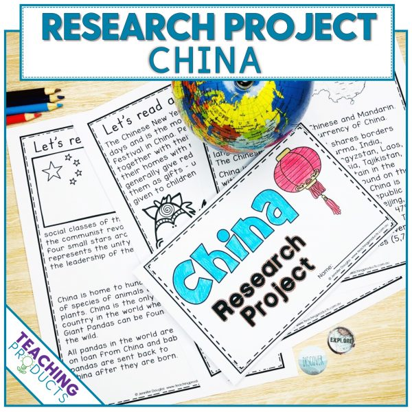 Social studies country research project China