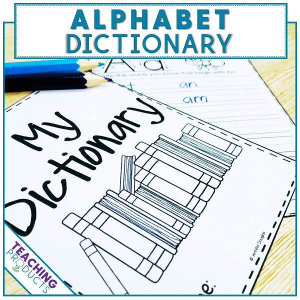 Personal dictionary to support letter recognition and early reading skills