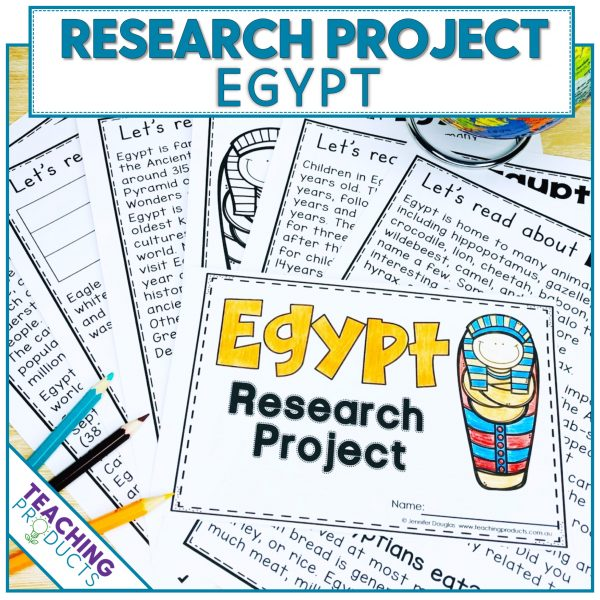 Social studies country research project Egypt