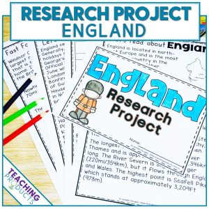 Social studies country research project England