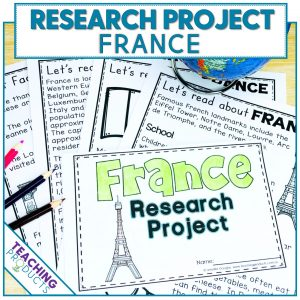 Social studies country research project France