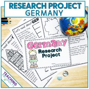 Social studies country research project Germany