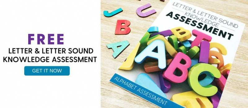Letter and letter sound knowledge assessment free download